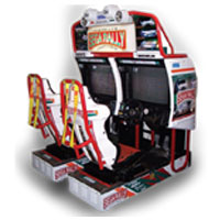 Symulator Sega Rally dzierżawa BILLKROS