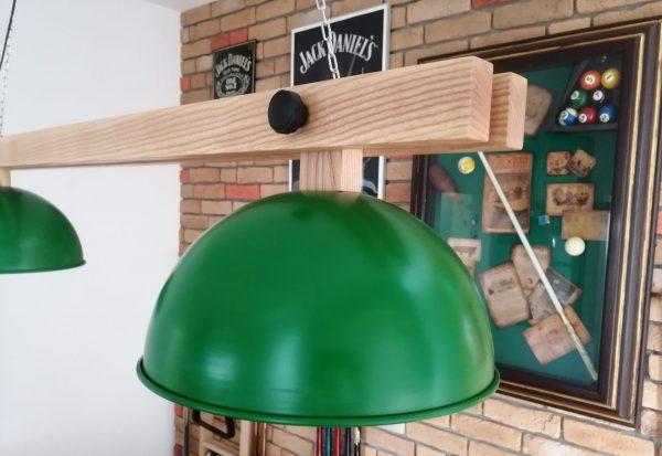 Lampa bilardowea 2-kloszowa model Victor