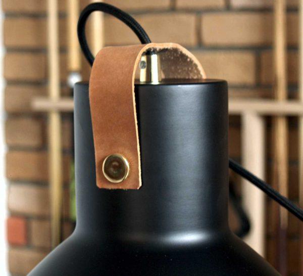 Czarny klosz do lampy Premium